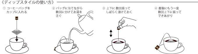 ロクメイコーヒー ドリップバッグのイメージ写真